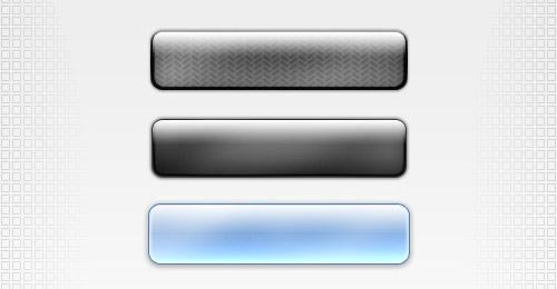 3d buttons psd