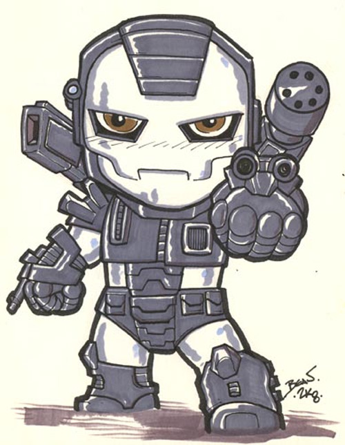 chibi war machine