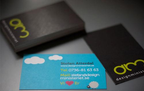 designministeriet card