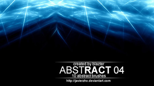 abstract light brush pack