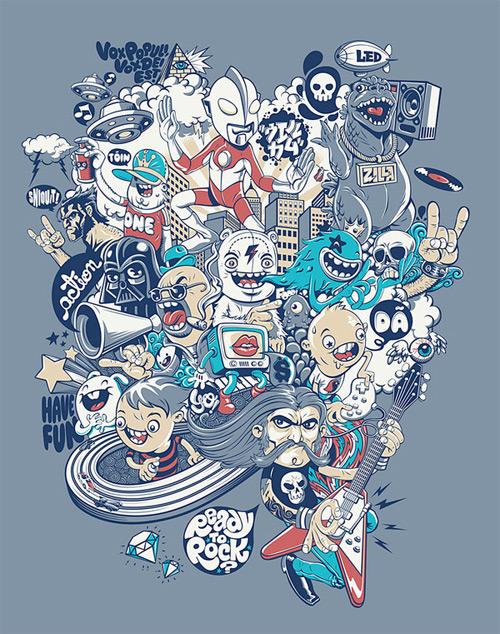 voz populi t-shirt