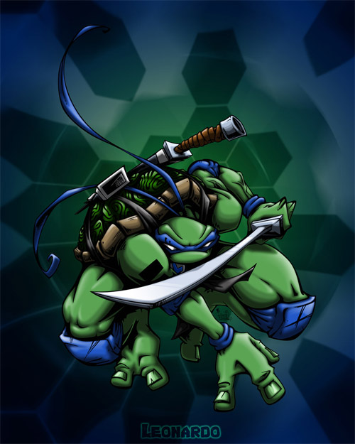 leonardo colored