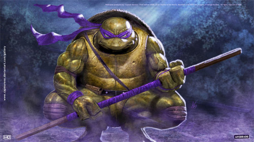 tmnt donatello hd wallpaper