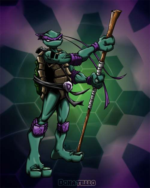 donatello colored