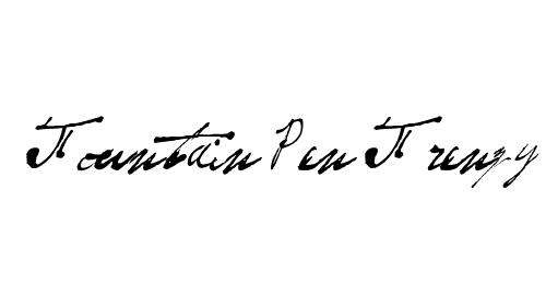 fountain pen frenzy