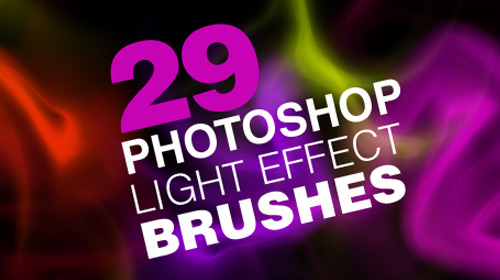 high res light brush