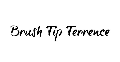 brush tip Terrence