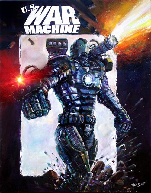 black war machine