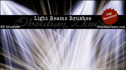 light beam brush