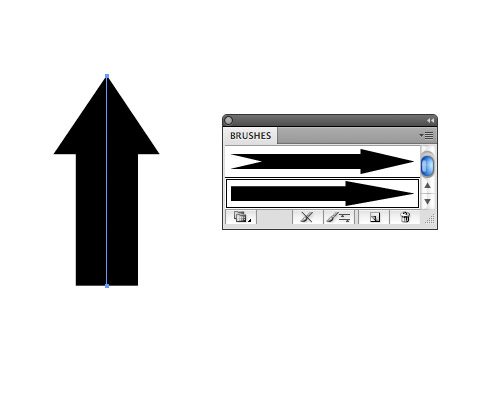Step 5: Arrow brushes