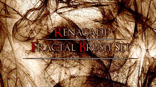 fractal brush set
