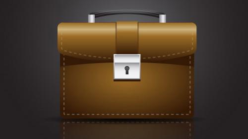 briefcase icon tutorial