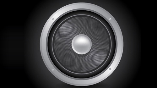 audio speaker icon tutorial