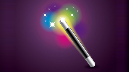 magic wand icon tutorial