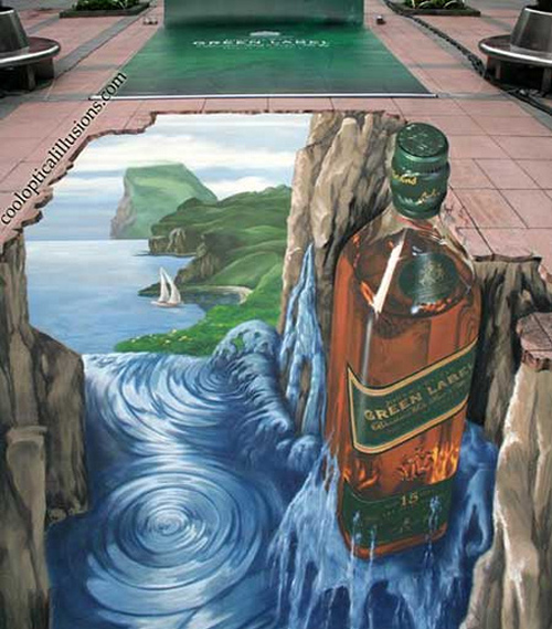 pretty amazing 3d painting