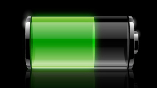transparent battery icon tutorial