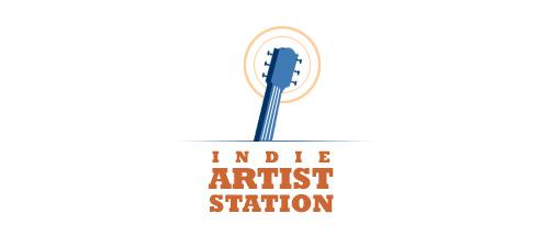 indie artist station logo