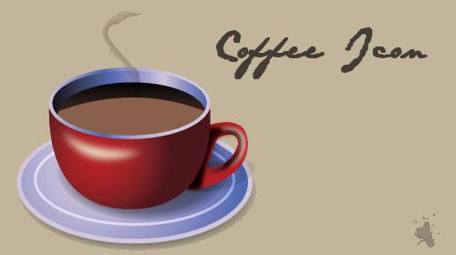 coffee mug icon tutorial