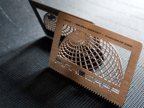 globe round corner business card