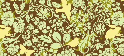 woodland pattern texture