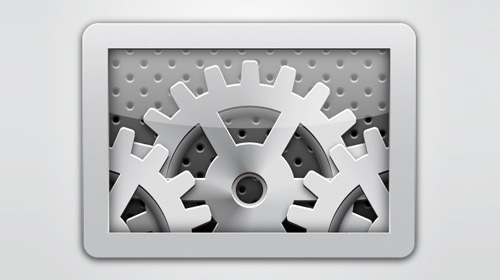 gear box icon tutorial