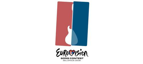 my eurovision 2008 logo