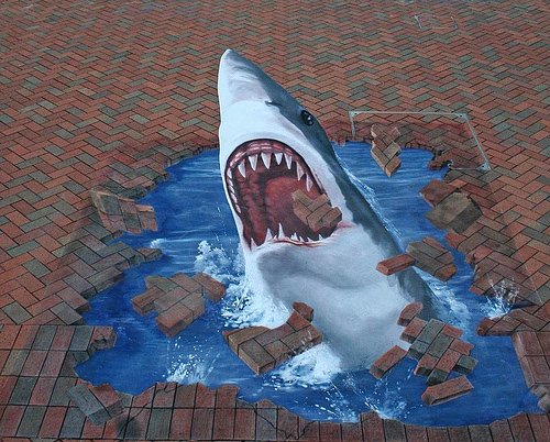 cool and amazing 3d street painting