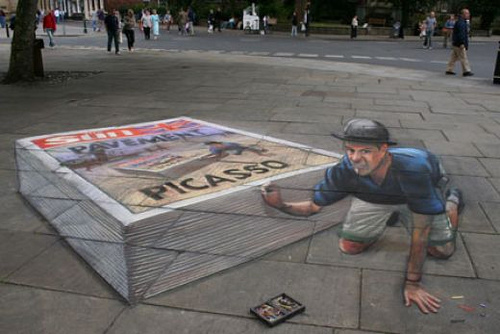 new pretty awesome 3d painting