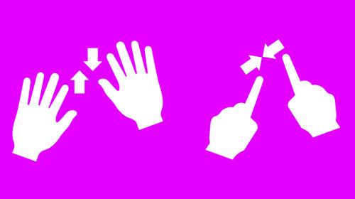 vector gestural icon