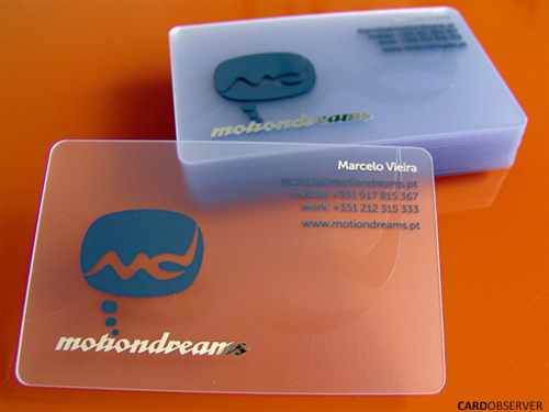 transparent rounded corner business card