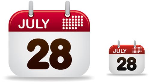 calendar design icon tutorial