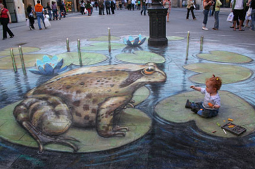 new pretty amazing 3d painting