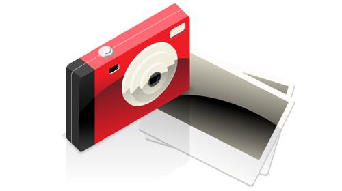 camera with photo icon tutorial