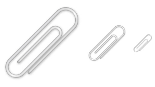 paperclip icon tutorial