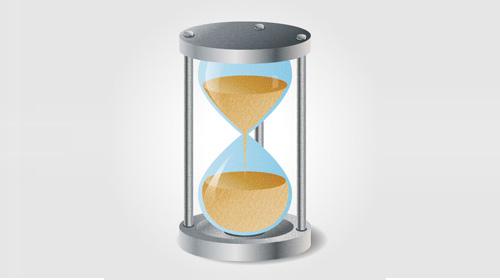 hourglass icon tutorial