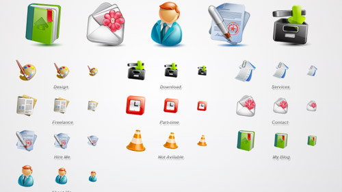 free web application icons