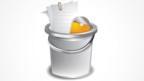 kshiny bucket icon tutorial