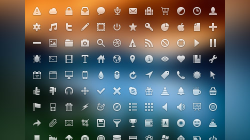 cool free web app icons