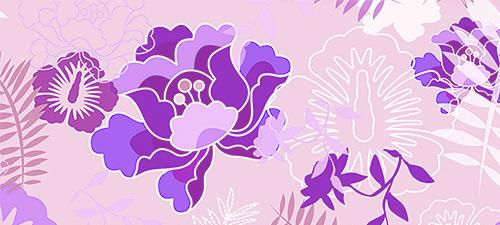 floral botanical texture