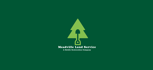 Meadville land services Logo Design