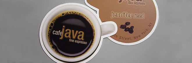 Creative Examples of Round Die Cut Business Cards