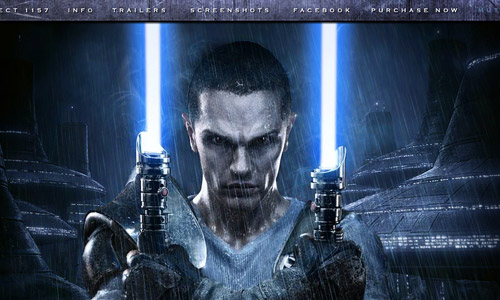 Star Wars - The Force Unleashed 2 Game Website