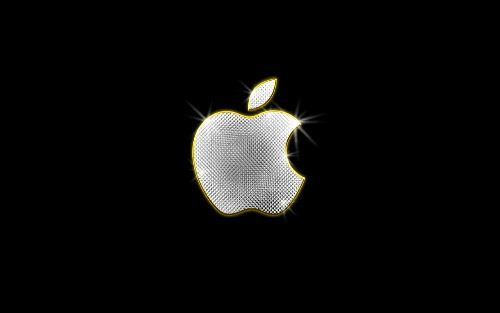 shiny apple wallpaper