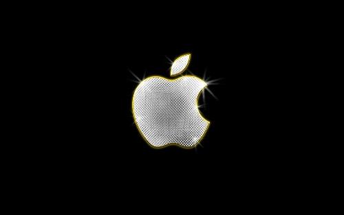 shiny apple wallpaper