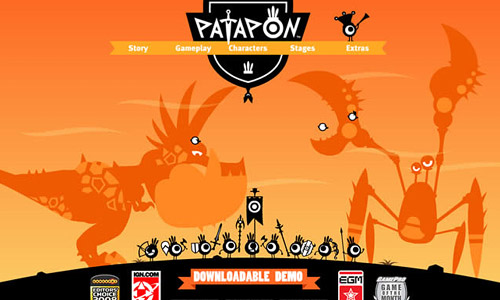 Patapon Game Website