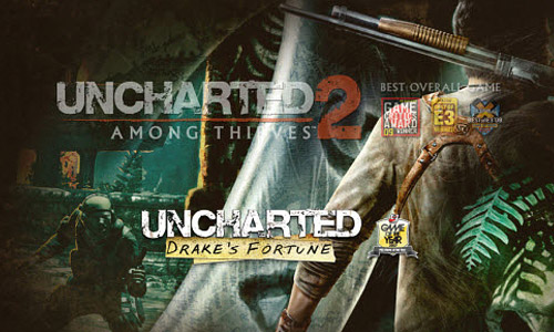 Uncharted Game Website
