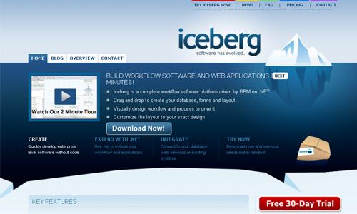 get ice berg