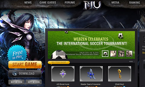 Muonline Game Website