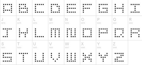 snapix pixel font