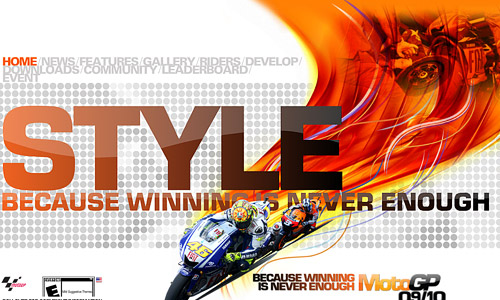Moto GP Game Website